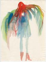 Vogelfrau ( engl. bird woman)