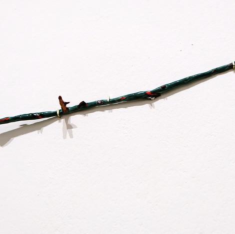 waldgrüner Rosenast, verzweigt