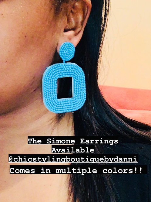 The Simone Earrings