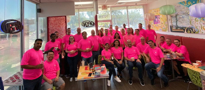 ELM Goes Pink in Support of the Cause