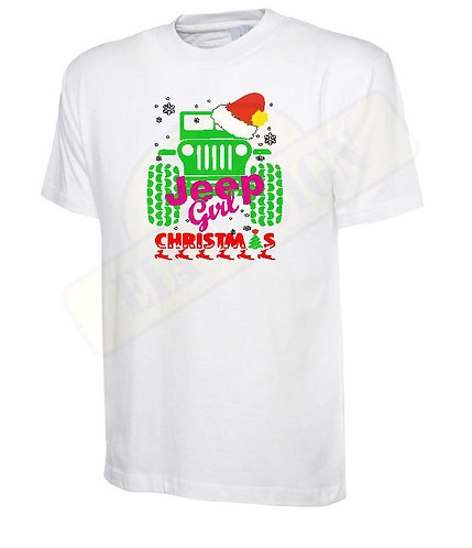 t-shirt off- road jeep Christmas v.2