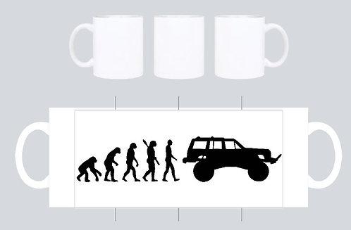 evolution xj
