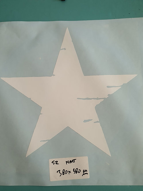 SALE  Military Distressed Star Sticker