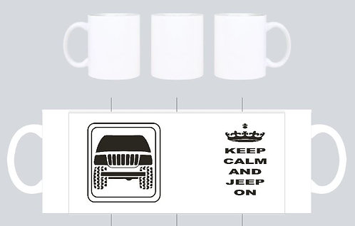 keep calm and jeep on wj