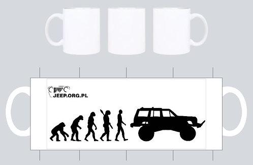 kubek jeep.org.pl bialy wz xj evo