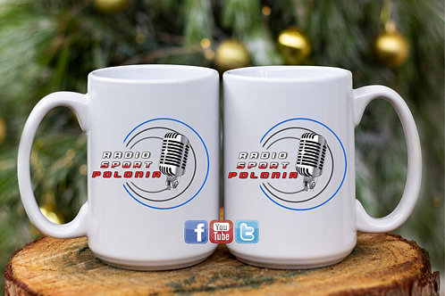 RADIO SPORT POLONIA 15oz ceramic mug