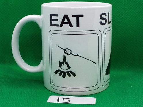 """#15  SALE   """" EAT , SLEEP . XJ """""""