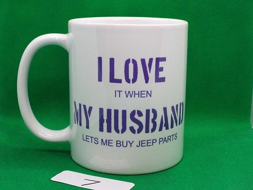 "# 7   SALE   ""I LOVE MY HUSBAND..."""