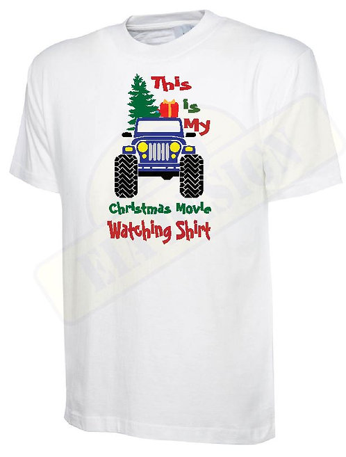 t-shirt off- road jeep Christmas v.3