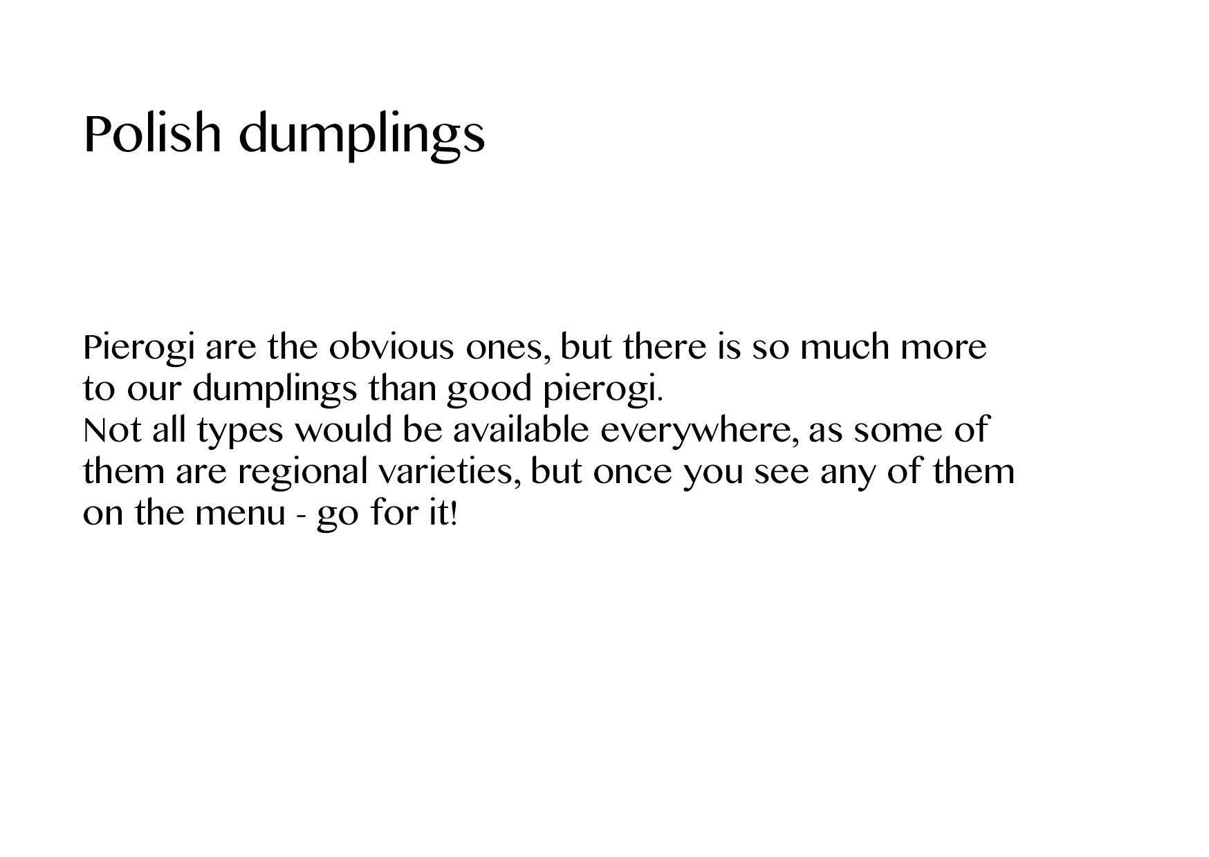 polish dumplings slajd