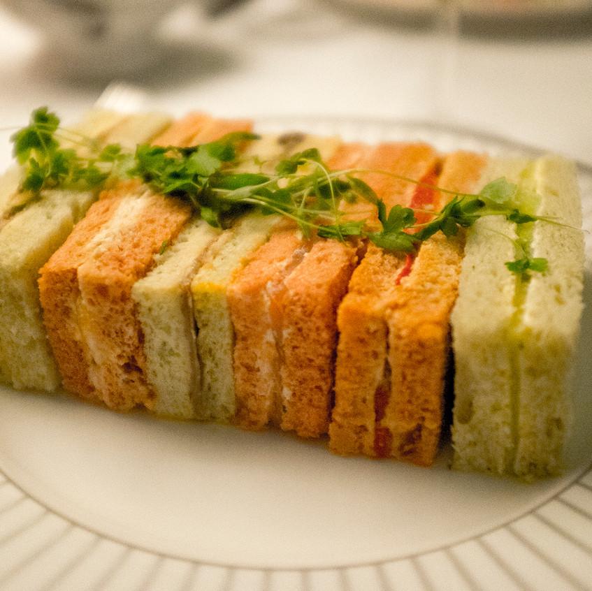 corinthia sandwiches