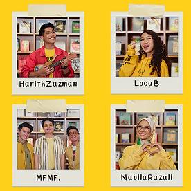 Harith Zazman, MFMF., LOCA B - Cute (Nab