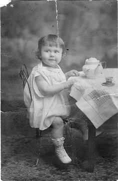 Mom at age 2