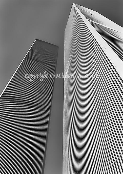 Window Washer, World Trade Center, 1988