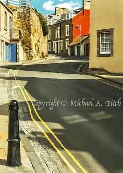 Abbey Wall Road, Crail, Fife, Scotland