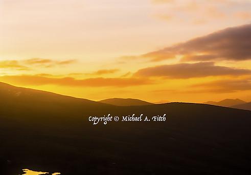 Nevis Range Sunset