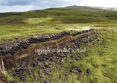 Peat Cutting, Isle of Skye
