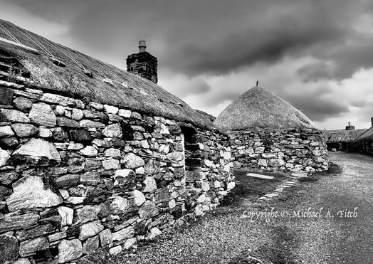Black Houses, Isle of Lewis, Outer Hebrides