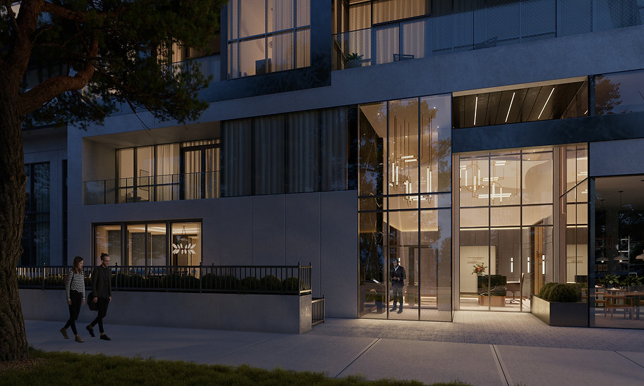 Bayview at TheVillage- Outdoor Terrace &