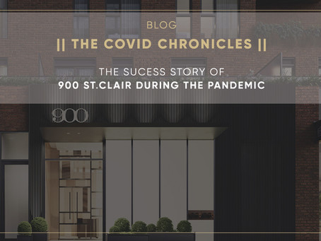 The Success Story of 900 St.Clair West during the Pandemic