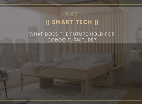 What does the future hold for condo furniture?