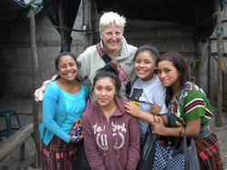 Sue with the market girls