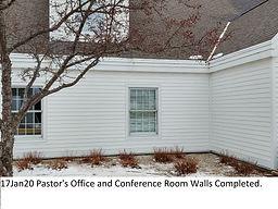 17Jan20 Pastor's Office Wall Complete.jp