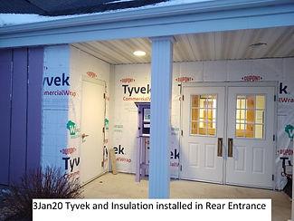 3Jan20 Rear Entrance Tyvek Insulation.jp
