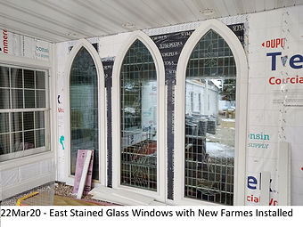 22Mar20 East Stained Glass Windows New F