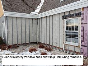 15Jan20 Nursery and Fellowship Hall Expo