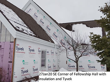 27Jan20 SE Corner Fellowship Hall Insula