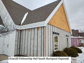 15Jan20 Fellowship Hall South Bumpout Ex