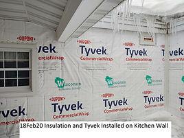 18Feb20 Insulation Tyvek Kitchen Wall.jp