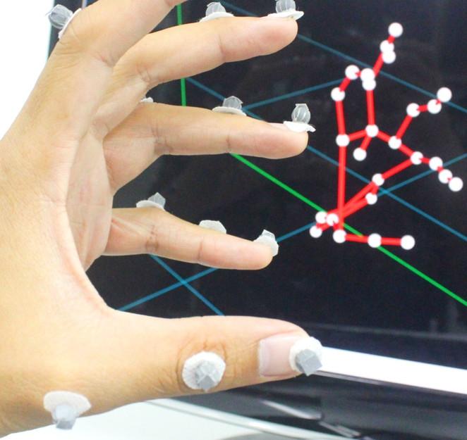 motion analysis hand