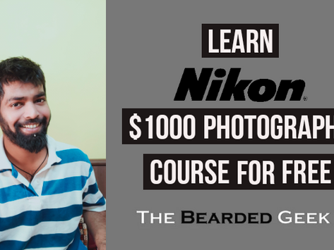 Nikon is offering its $1000 online photography course for FREE | Grab yours now!