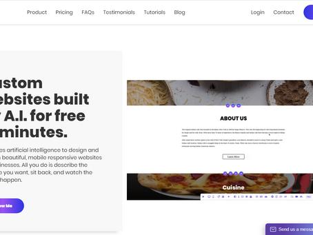 Leia | Custom, Responsive Website In under 60 Seconds