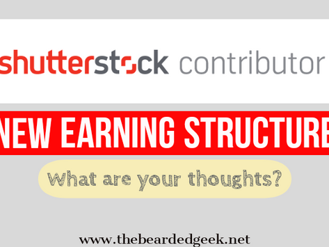 Shutterstock new earning structure changes for its contributors good news or bad?