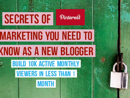 The truth about Pinterest Marketing | Secrets you need to know as a new blogger
