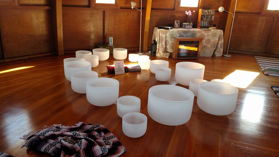 Crystal Bowls at Integratron