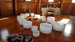 Crystal Bowls at Integratron
