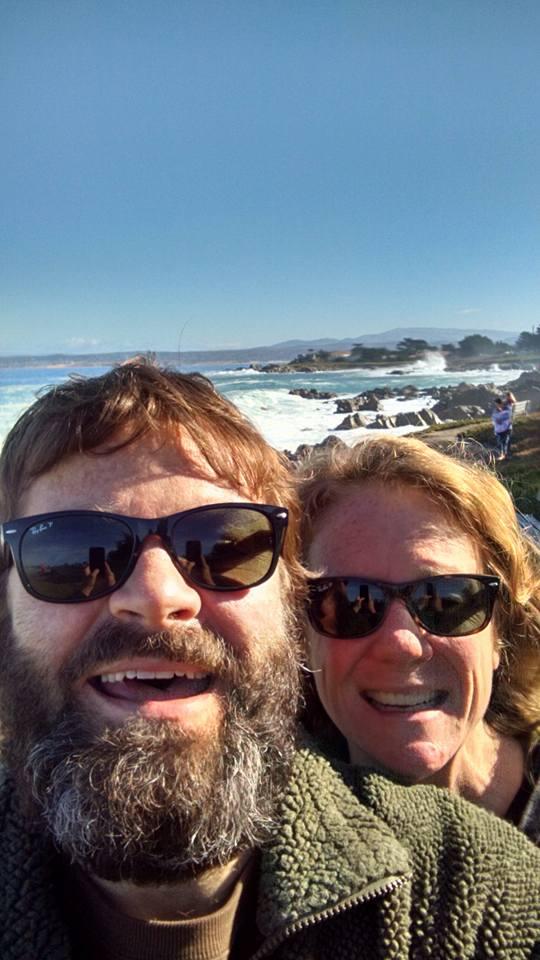 Matt & Julia inMonterrey, California