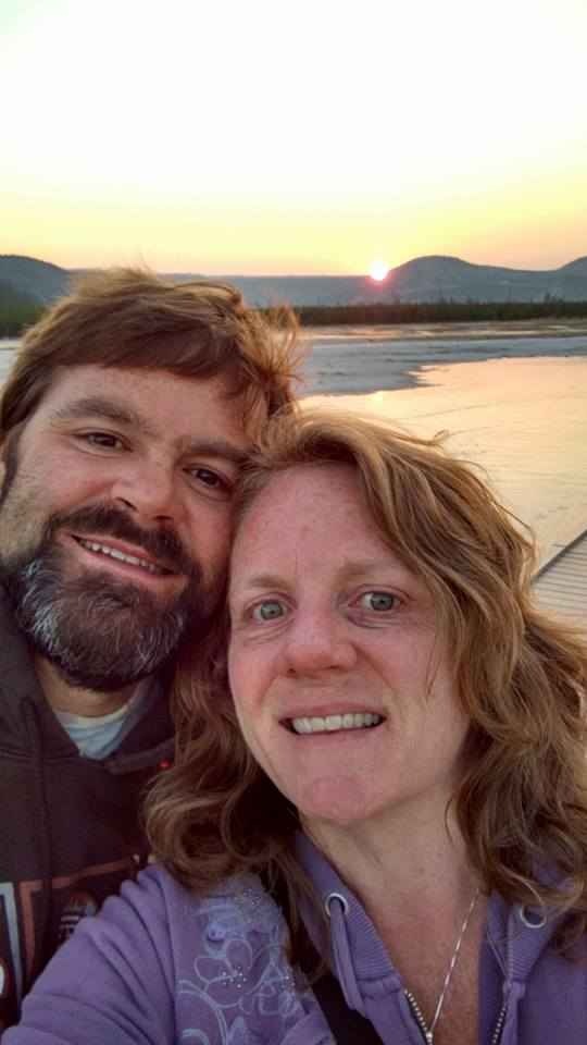Matt & Julia at Yellowstone