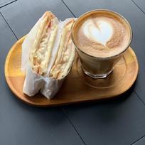 Sandwich and Coffee set