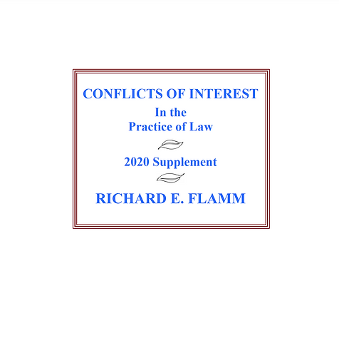 Conflicts Of Interest Supplement