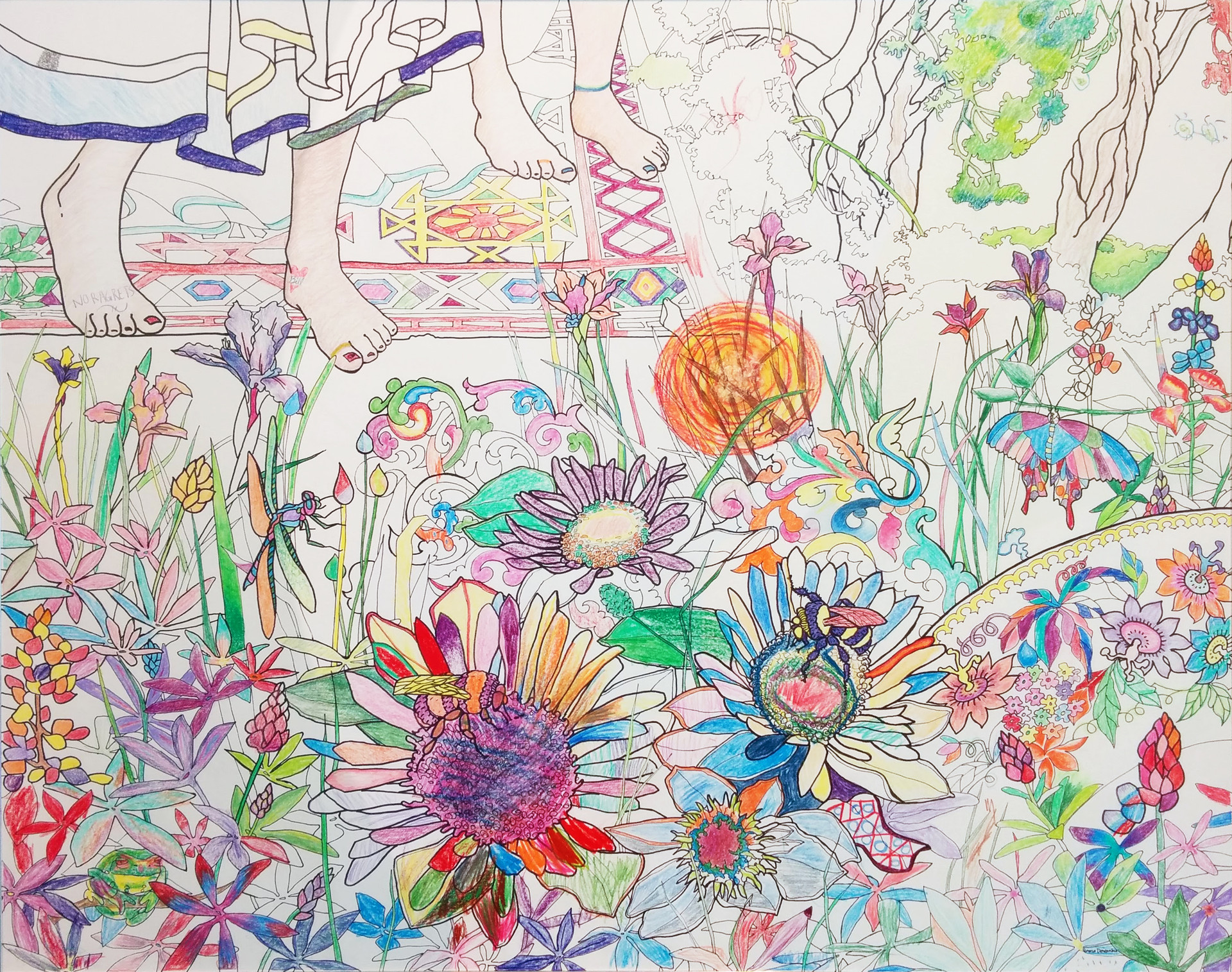 """""""Enter the Garden"""" about 2 weeks in to """"Bloom"""" exhibition."""