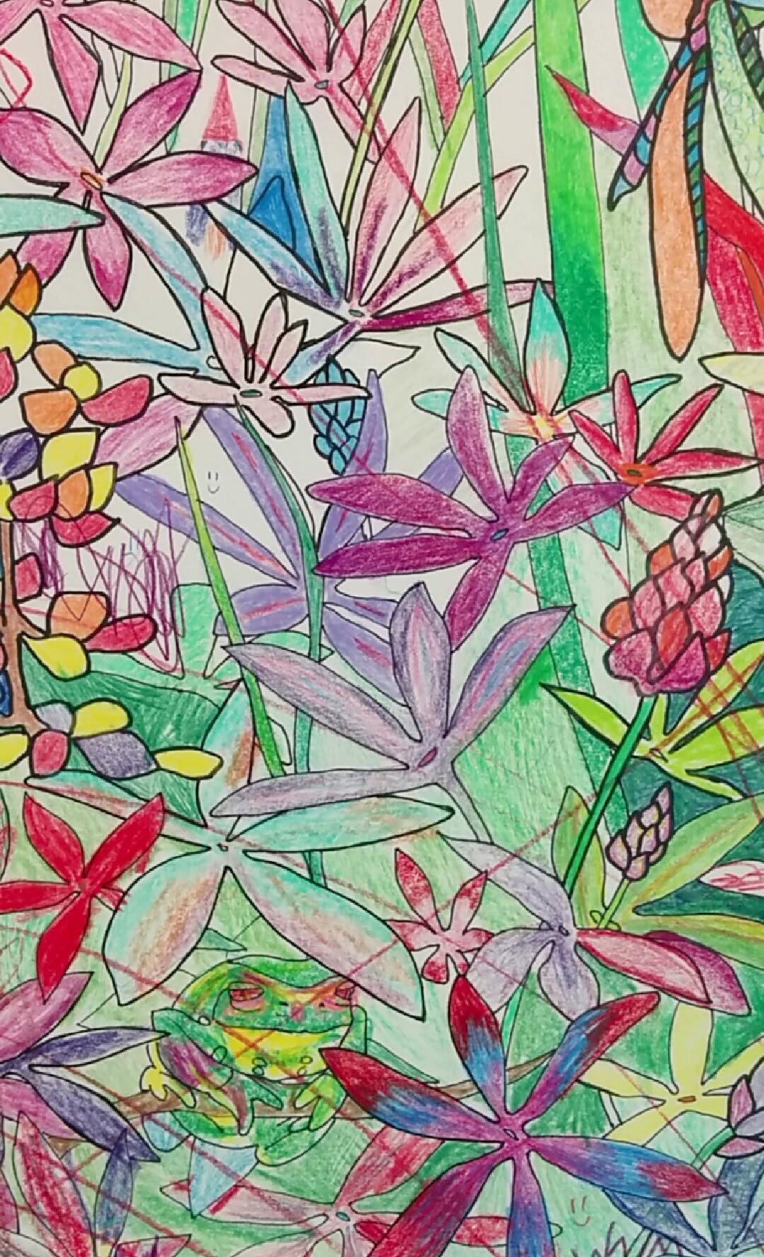 """""""Enter the Garden""""  detail"""