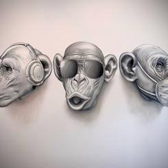 Three Wise Monkey's