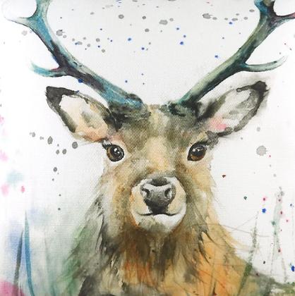 Cuadro canvas ciervo