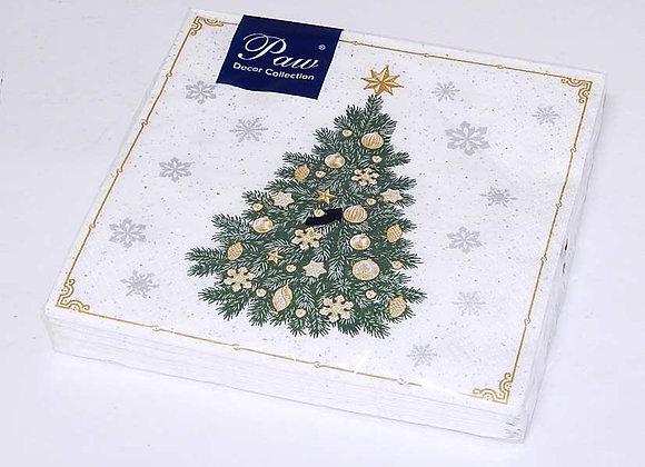 20 Servilletas Árbol Navidad