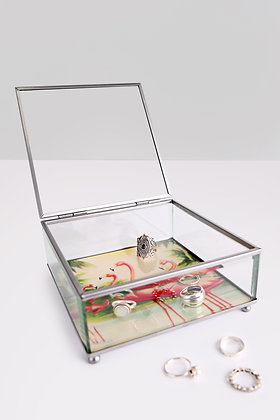 Caja cristal flamenco